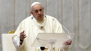 Βατικανό: «Κατάπληκτος» ο Πάπας Φραγκίσκος από την επίθεση στο Καπιτώλιο