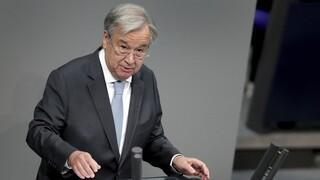 Γκουτέρες: Ο Γενικός Γραμματέας του Οργανισμού Ηνωμένων Εθνών θέλει δεύτερη θητεία