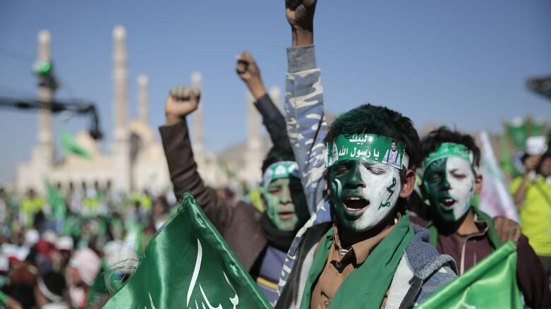 Οι αντάρτες Χούθι στον κατάλογο των ΗΠΑ με τις ξένες τρομοκρατικές οργανώσεις