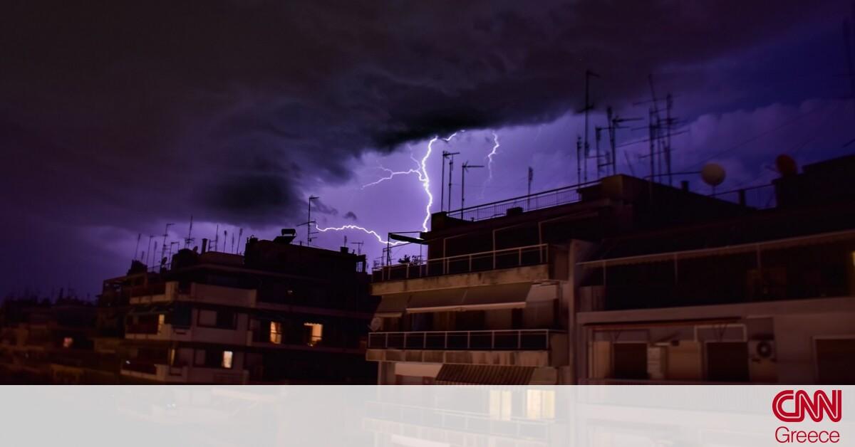 Έκτακτο δελτίο καιρού: Ραγδαία αλλαγή – Καταιγίδες και χαλάζι από σήμερα το απόγευμα