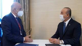 Διπλωματικές πηγές: Δεν έχει προγραμματισθεί συνάντηση Δένδια - Τσαβούσογλου