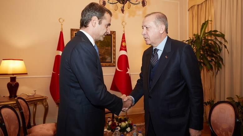 Διερευνητικές επαφές: Τα μηνύματα Μητσοτάκη - Ερντογάν και οι «κόκκινες γραμμές»