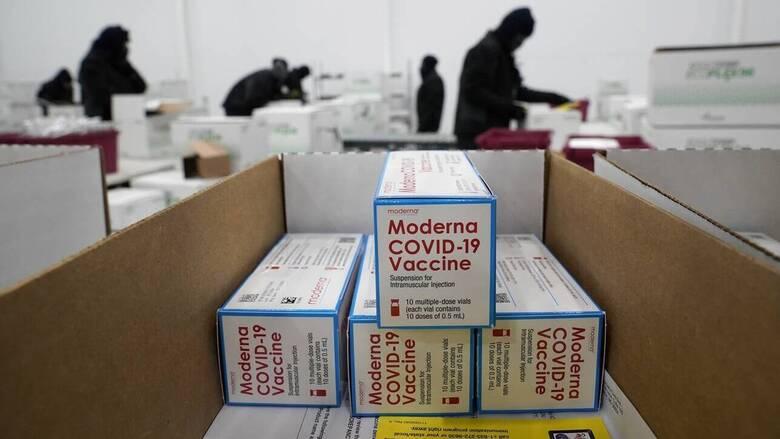Εμβόλιο κορωνοϊός: 8.000 δόσεις της Moderna στην Ελλάδα - Πόσες θα λάβουμε συνολικά
