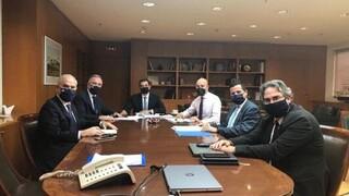Σύσκεψη Καλαφάτη με την ηγεσία του υπουργείου Περιβάλλοντος για τα έργα της Θεσσαλονίκης