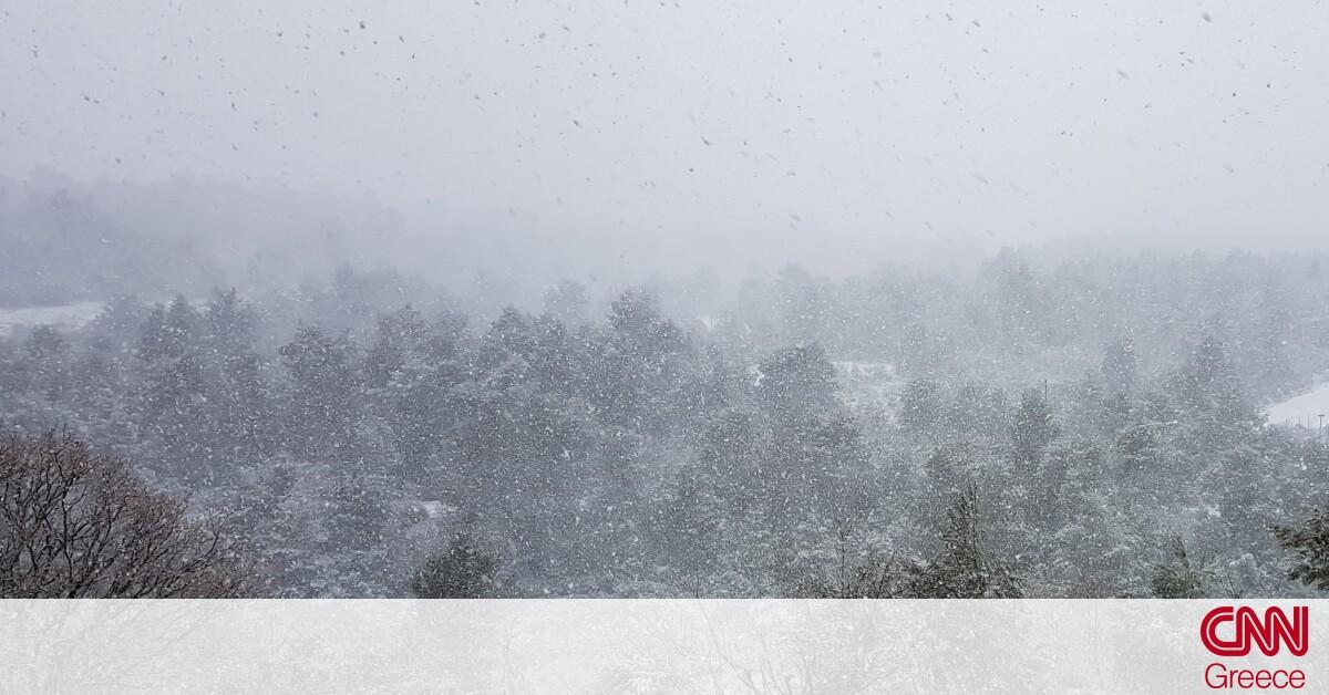 Καιρός: Ψυχρή εισβολή από τον «Λέανδρο» – Πού θα χιονίσει