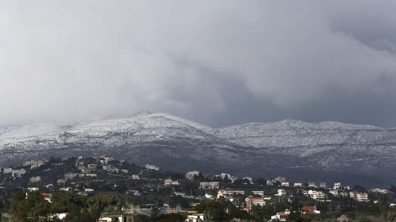 Καιρός: Έρχεται χιονόπτωση ακόμη και στην Αττική