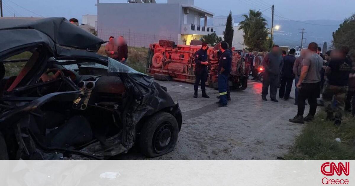 Κρήτη: Βίντεο – ντοκουμέντο από το τροχαίο που έχασαν τη ζωή τους μητέρα και κόρη