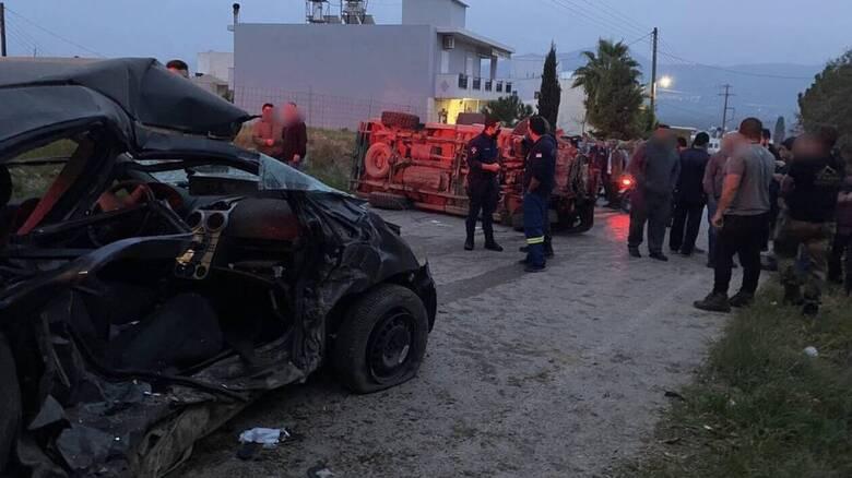 Κρήτη: Βίντεο - ντοκουμέντο από το τροχαίο που έχασαν τη ζωή τους μητέρα και κόρη