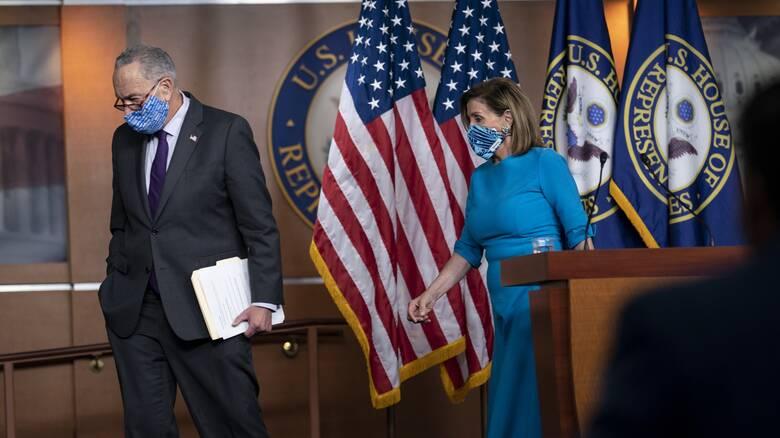 Παραπομπή Τραμπ: Τη στέρηση του δικαιώματός του να ξαναεκλεγεί πρόεδρος εξετάζουν οι Δημοκρατικοί