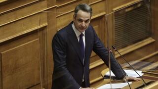 Μητσοτάκης: Χρονική επέκταση δύο μέτρων στήριξης, χαλάρωση περιορισμών και 500 ευρώ πρόστιμο