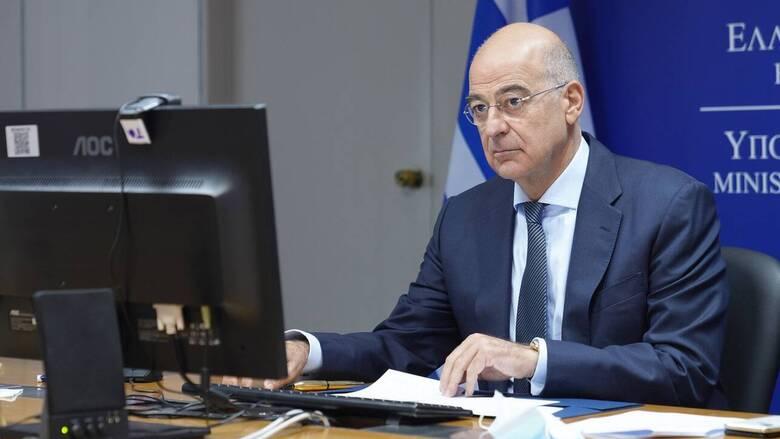 Δένδιας: Η Ελλάδα σε συζήτηση με οποιαδήποτε χώρα δεσμεύεται από το ευρωπαϊκό κεκτημένο