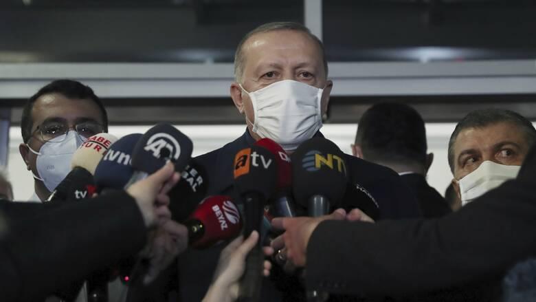 Ερντογάν: Θετικός σε συνάντηση με τον Κυριάκο Μητσοτάκη