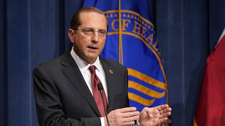ΗΠΑ: Παραιτήθηκε ο υπουργός Υγείας λόγω της εισβολής στο Καπιτώλιο