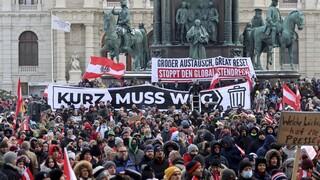 Κορωνοϊός - Αυστρία: Διαδηλώσεις κατά των περιοριστικών μέτρων ενόψει αυστηρότερου lockdown
