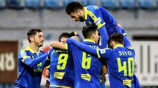 Αστέρας Τρίπολης-Παναιτωλικός 2-0: Νίκη για τους Αρκάδες