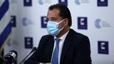 Γεωργιάδης: Δεν υπάρχουν ημερομηνίες για το άνοιγμα της εστίασης