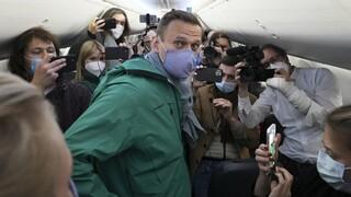 Συνελήφθη ο Αλεξέι Ναβάλνι στο αεροδρόμιο της Μόσχας