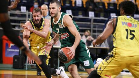 Basket League: Άρης-Παναθηναϊκός ΟΠΑΠ 75-93: Στην κορυφή οι «πράσινοι»