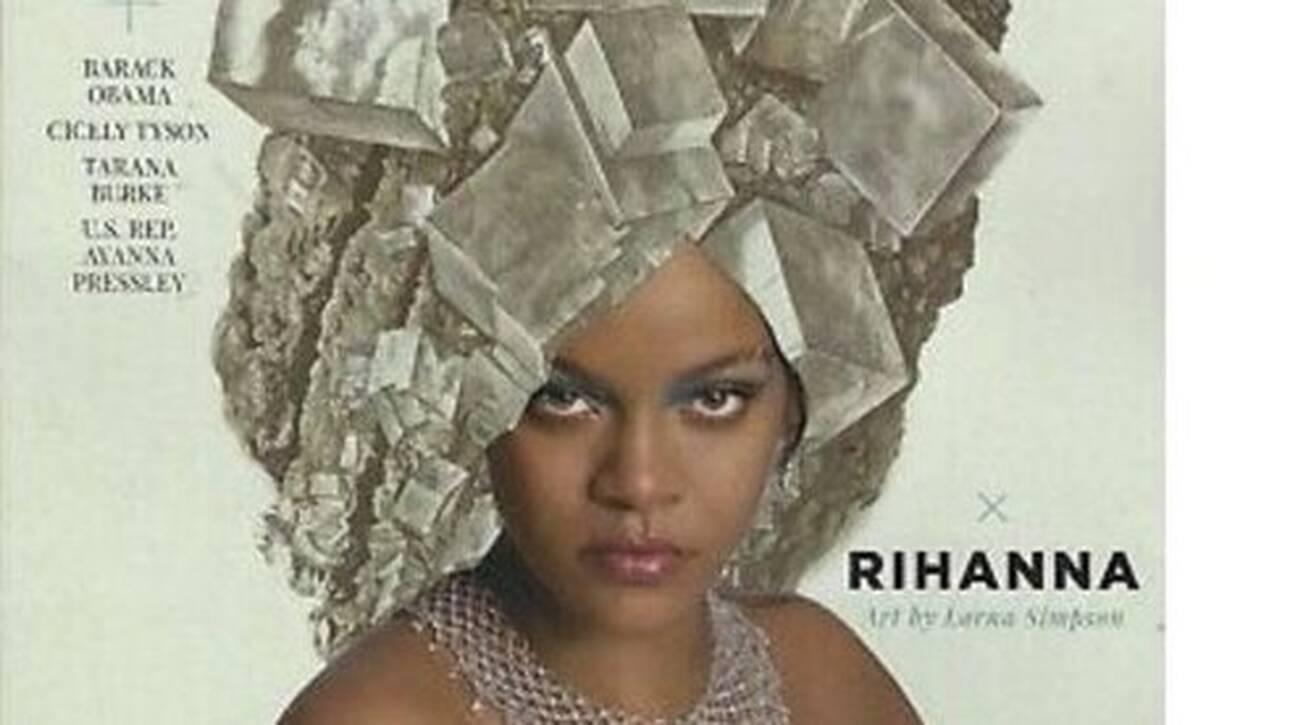 Rihanna: Γίνεται κολάζ για το εξώφυλλο περιοδικού σε μια πολύ ξεχωριστή φωτογράφιση