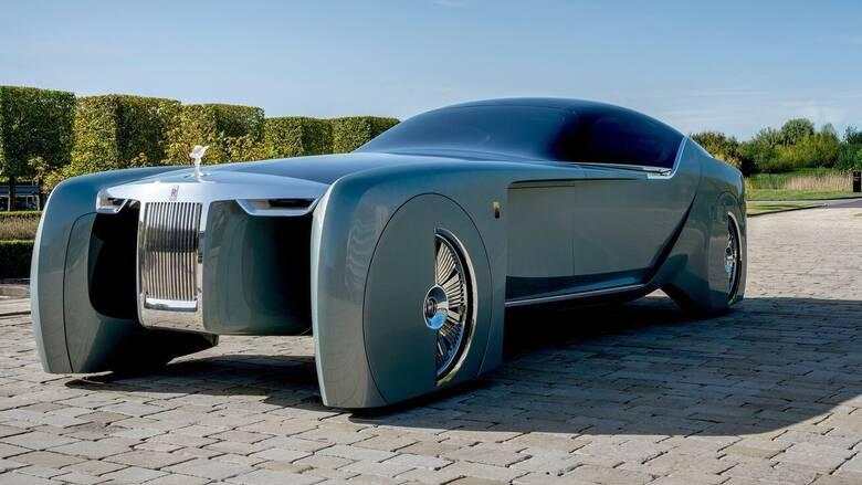 Αυτοκίνητο: Η ηλεκτρική Rolls Royce θα λέγεται Silent Shadow και θα έχει φουτουριστική εμφάνιση