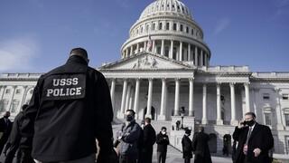 Συναγερμός στις ΗΠΑ: Αποκλείστηκε το Καπιτώλιο λόγω «εξωτερικής απειλής»