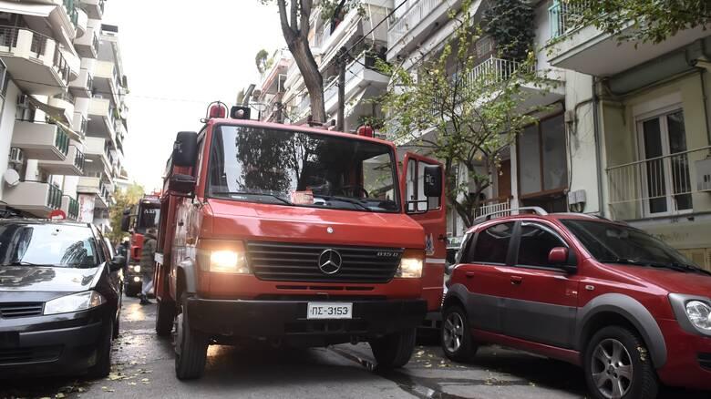 Θεσσαλονίκη: Κάηκαν ολοσχερώς δύο διπλοκατοικίες