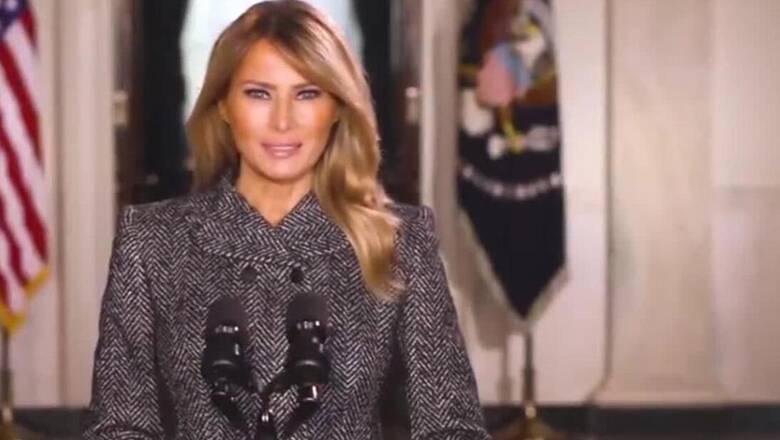 «Τα τέσσερα τελευταία χρόνια ήταν αξέχαστα» - Το «αντίο» της Μελάνια Τραμπ στους Αμερικανούς