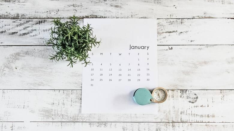 Αργίες 2021: Τριήμερα και... τετραήμερο φέτος - Πότε πέφτουν