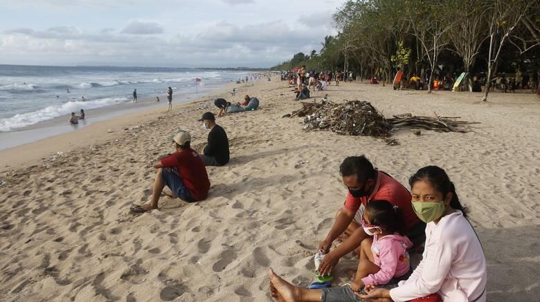 Κορωνοϊός- Μπαλί: Πώς θα τιμωρούνται οι τουρίστες που δεν φορούν μάσκα