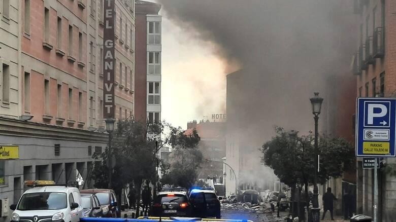 Ισχυρή έκρηξη στο κέντρο της Μαδρίτης - Δύο νεκροί, οκτώ τραυματίες