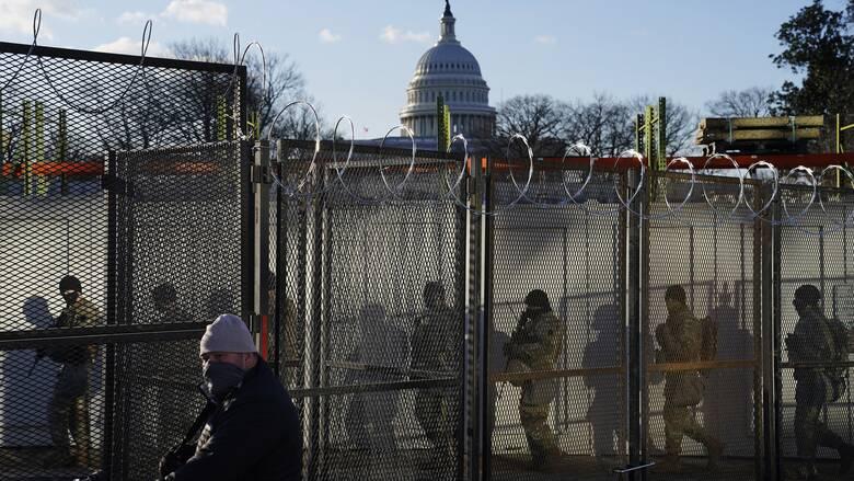 Ορκωμοσία Μπάιντεν: Σε «φρούριο» έχει μετατραπεί η Ουάσινγκτον