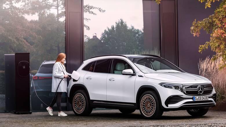 H Mercedes προσθέτει και άλλο ηλεκτρικό SUV στη γκάμα της, την πιο μικρή EQΑ