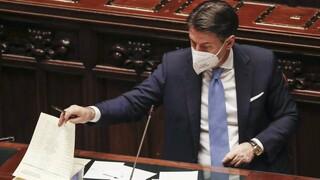 Ιταλία: Σε σταδιακή διεύρυνση της πλειοψηφίας του ελπίζει ο Κόντε