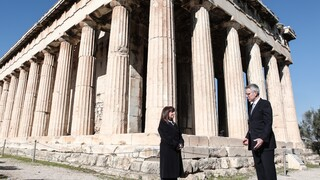 Ορκωμοσία Μπάιντεν - Σακελλαροπούλου: Ελλάδα και ΗΠΑ μοιράζονται την ίδια πίστη στη Δημοκρατία