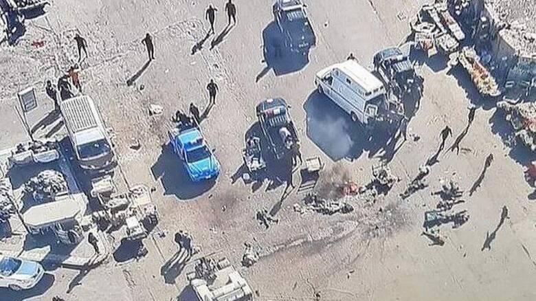 Φονική επίθεση αυτοκτονίας στην καρδιά της Βαγδάτης: 15 νεκροί, 20 τραυματίες