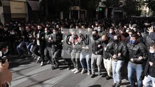 Ξεκίνησε το πανεκπαιδευτικό συλλαλητήριο στο κέντρο της Αθήνας