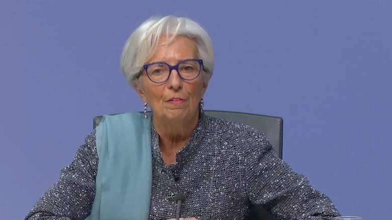 Αμετάβλητα διατήρησε τα επιτόκια η ΕΚΤ - Τι είπε η Κριστίν Λαγκάρντ