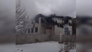 Ουκρανία: Νεκροί και τραυματίες από πυρκαγιά σε γηροκομείο