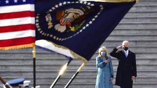 ΗΠΑ: Περίπου 40 εκατ. τηλεθεατές παρακολούθησαν την ορκωμοσία Μπάιντεν