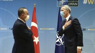 Συνάντηση Τσαβούσογλου με Στόλτενμπεργκ – Η ανακοίνωση του ΝΑΤΟ