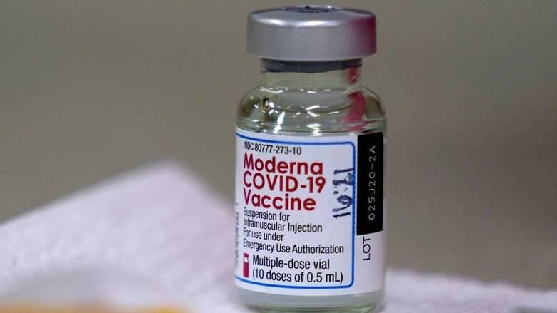 Κορωνοϊός: Σπανίως εμφανίζονται σοβαρές αλλεργικές αντιδράσεις στο εμβόλιο της Moderna