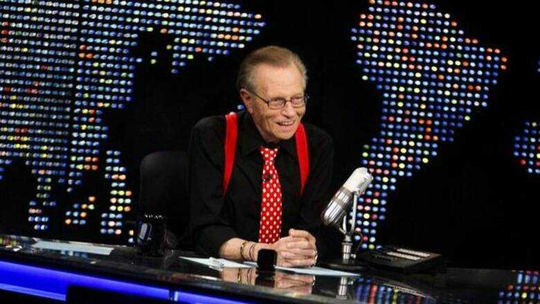 Larry King: Ο θρυλικός παρουσιαστής του CNN και ιερό τοτέμ των talk show