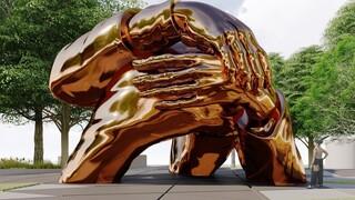 «Η Αγκαλιά»: Ένα μνημείο για το Μάρτιν Λούθερ Κινγκ και τη σύζυγό του Κορέτα Σκοτ Κινγκ