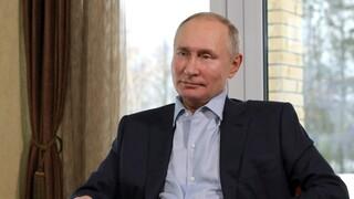 Πούτιν: Παράνομες και επικίνδυνες οι διαμαρτυρίες για την απελευθέρωση Ναβάλνι