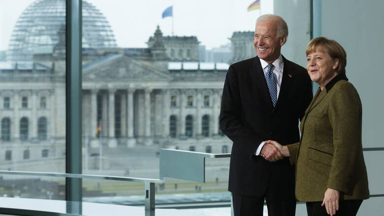 Πρόσκληση Μέρκελ σε Μπάιντεν για επίσκεψη στο Βερολίνο - Τι είπαν στο τηλέφωνο