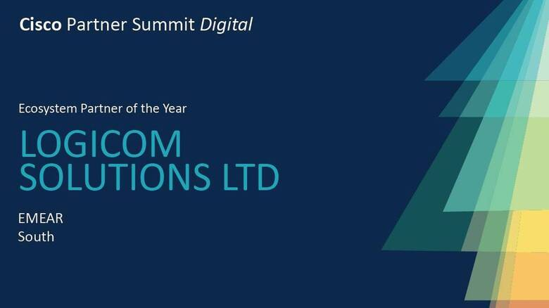 "Βράβευση της Logicom Solutions ως Cisco ""Ecosystem Partner of the Year"" για την περιοχή EMEAR South"