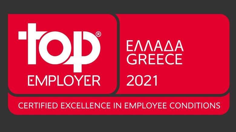 ΝΝ Hellas: Τοp Employer 2021 - Μοναδική ασφαλιστική εταιρία για 3η συνεχή χρονιά
