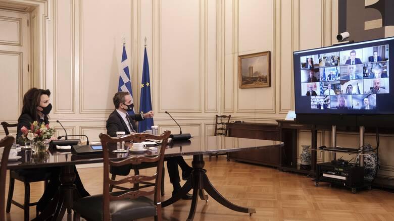 Μητσοτάκης: Εμβληματικό το 2021 για την ταυτότητα που θα έχει η Ελλάδα στο μέλλον