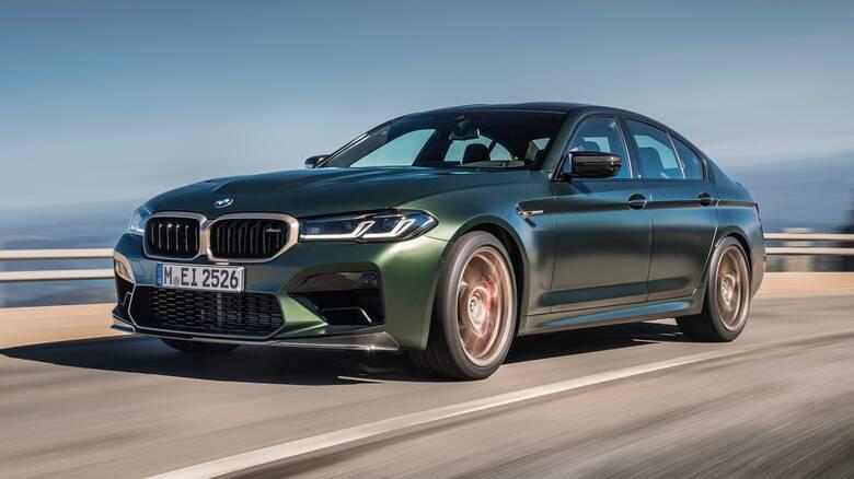 Η M5 CS των 635 ίππων είναι η πιο ακριβή BMW που μπορεί να αγοράσει κανείς