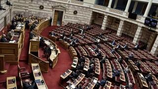 Ένταση στη Βουλή για το συλλαλητήριο